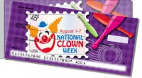 National Clown Week Side Tear Personal Checks