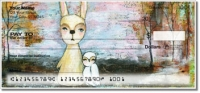 Whimsical Critter Personal Checks