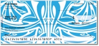 Art Nouveau Pattern Personal Checks