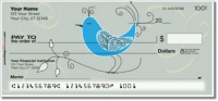 Whimsical Bird Personal Checks