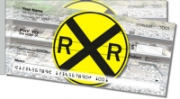 Railroad Crossing Side Tear Personal Checks