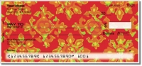 Floral Fabric Personal Checks