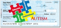 Autism Awareness Personal Checks