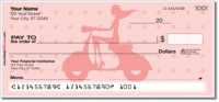 Scooter Girl Personal Checks