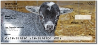 Baby Goat Personal Checks