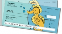 Silly Seahorse Side Tear Personal Checks