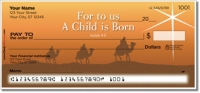Nativity Scene Personal Checks