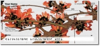 Rustic Flower Personal Checks