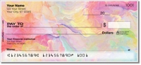 Floral Abstract Personal Checks