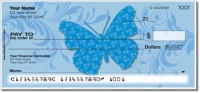 Butterfly Print Personal Checks