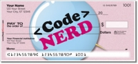 Nerd Pride Personal Checks