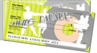 Swing Dancing Side Tear Personal Checks