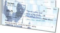 Teddy Roosevelt Side Tear Personal Checks