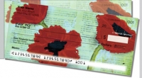 Poppies Side Tear Personal Checks
