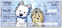 Terrier Friends Personal Checks