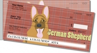 German Shepherd Side Tear Personal Checks