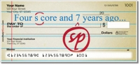 Proofreader Personal Checks