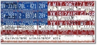 Americana License Plate Personal Checks
