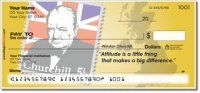 Winston Churchill Personal Checks