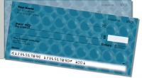 Blue Bubble Pattern Side Tear Personal Checks