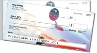 Red Ride Side Tear Personal Checks