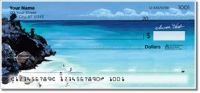 Beach Scene Personal Checks
