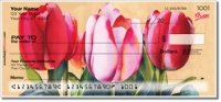 Floral Series 7 Personal Checks