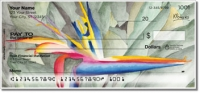 Floral Series 6 Personal Checks