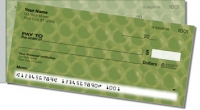 Green Bubble Pattern Side Tear Personal Checks