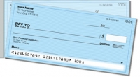 Blue Safety Side Tear Personal Checks