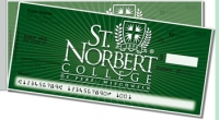 St. Norbert Academic Side Tear Personal Checks