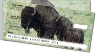 American Bison Side Tear Personal Checks