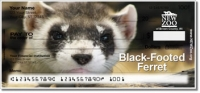 NEW Zoo Endangered Species Personal Checks
