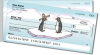 Scrivan Penguins Side Tear Personal Checks