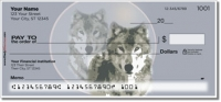 Gray Wolf Personal Checks