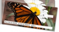 Monarch Butterfly Side Tear Personal Checks