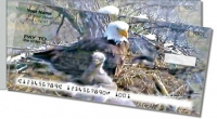 Nesting Eagle Side Tear Personal Checks
