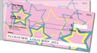 Multi-Colored Stars Side Tear Personal Checks