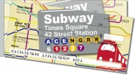 New York Subway Side Tear Personal Checks