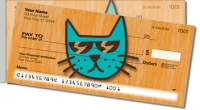 Cool Cat Side Tear Personal Checks