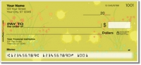 Chive Flower Personal Checks