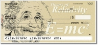 Famous Scientist Personal Checks