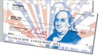 Founding Father Side Tear Personal Checks