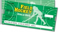 Field Hockey Side Tear Personal Checks