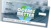 World Oceans Day Side Tear Personal Checks
