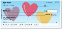 Heart Balloon Personal Checks