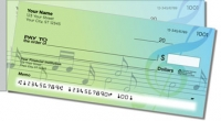 Musical Note Side Tear Personal Checks