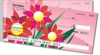 Spring Flower Side Tear Personal Checks