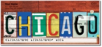 Illinois License Plate Personal Checks