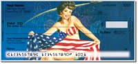 Pin Up Girl Personal Checks